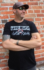 Love Music T-Shirt schwarz