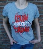 Lovin violence is not a crime Girlie grau